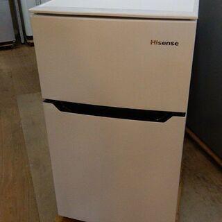 ハイセンス 2ドア 冷凍冷蔵庫 HR-B95A 2020年…