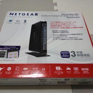 ネットギア WNDR4300 無線ルーター a/b/g/n 最大...