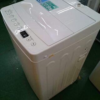 【高年式です♪】アマダナ 2018年製 4.5kg全自動洗…