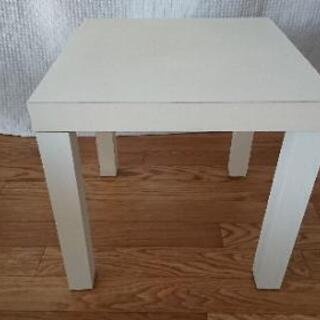 正方形 テーブル ホワイト