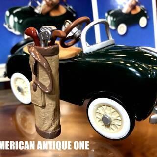 車にぶら下げたらおしゃれ^^ ゴルフバック付 1949年モデル ...