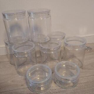 ガラス製容器★円柱型★