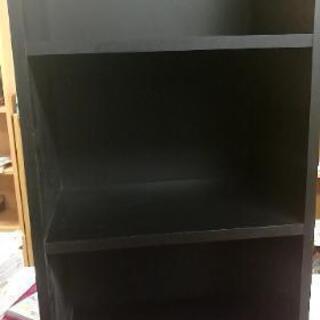 カラーボックス ブラック
