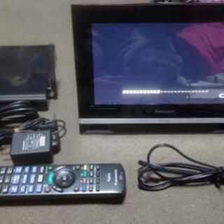 10インチ「プライベートビエラ」ネットワークディスプレイ付HDD...