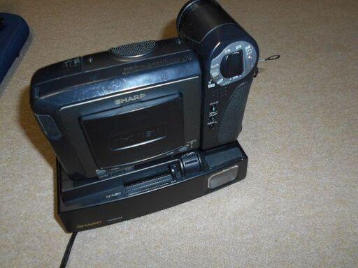 差し上げますSHARP Hi8液晶ビューカム8mmビデオカメラジャンク (囲碁男 ...