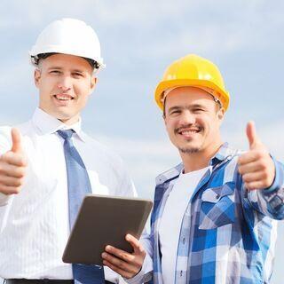 【正社員】未経験でも年収300万以上!建設管理事務