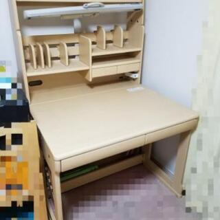 【中古美品・ご自宅まで搬送します】学習机(ITOKI)  の画像
