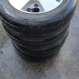 タイヤサイズ 155/65 R13   タイヤ4本セット …