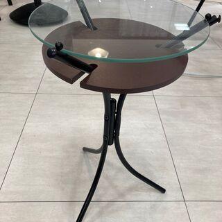 ガラス板サイドテーブル
