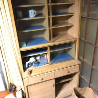 食器棚 横89.5×奥行44.5×高さ177cm
