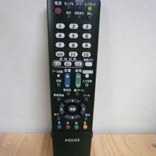 シャープ テレビリモコン GA995WJSA