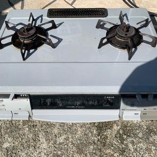 ガスコンロ 都市ガス リンナイ 使用可能 RTS-M660CS-R