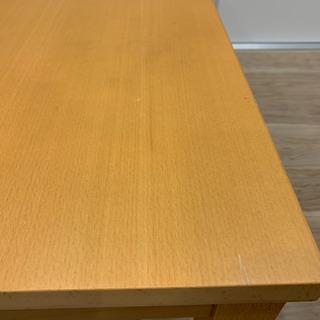 【無印良品】 ローテーブル 机 茶色 美品 − 東京都
