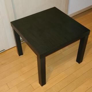 テーブル 正方形 黒