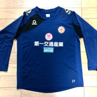 [24]ギラヴァンツ北九州 選手使用練習着 長袖 サイズO
