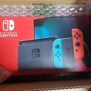 【ネット決済】【新品】Nintendo Switch ネオンレッ...