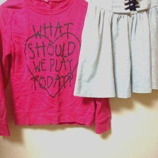 160cm Tシャツ & スカート