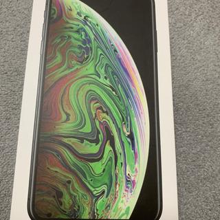 【新品未使用】iPhone XS max 256GB グレー S...