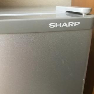 【取引中になりました】シャープ2015年製ノンフロン冷蔵庫一人暮らし用