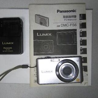 Panasonic  LUMIX  DMC-FS6  コンパクト...