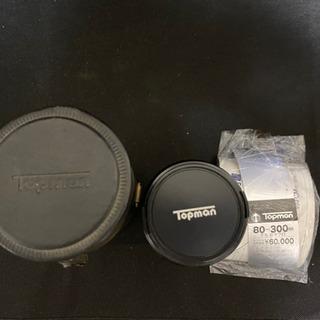トップマン 交換レンズ 80-300 未使用品
