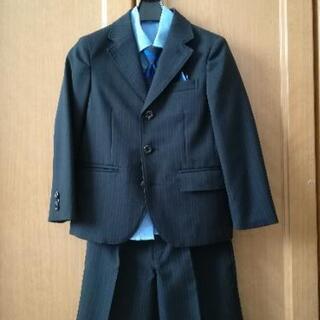 【美品】男児 120センチ スーツ(半パン)