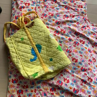 お昼寝布団 保育園 入園準備 カバー 袋付き