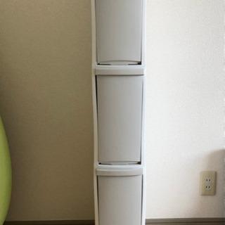 ニトリ スリム分別三段ゴミ箱 ダストボックス