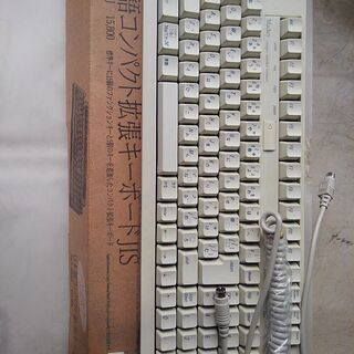 Mac用キーボードJIS  SKB-106MJ Apple Ma...