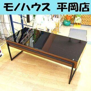 センターテーブル 幅105×奥行47×高さ38cm リビン…