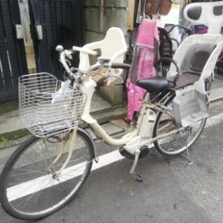 🌈早い者勝ち、🔴大人気🌕前かご3人乗り🔵26インチ電動自転車🌕超...