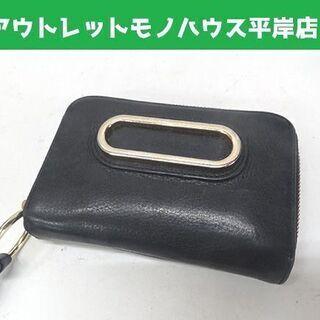 シーバイクロエ 折り財布 ネイビー 14.5×9cm Se…