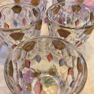 チェコガラスのグラス再値下げしました。