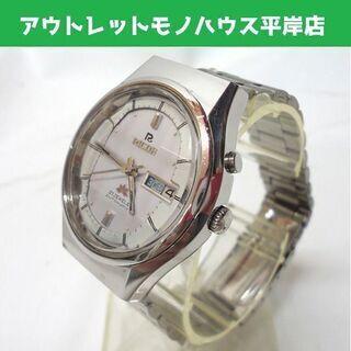 RICOH リコー 自動巻き 腕時計 カットガラス 21石…