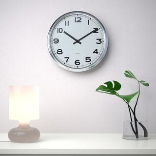 【売約済】IKEA 壁掛け時計