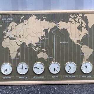 シチズン ワールドタイム 601 世界時計(壁掛け)