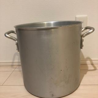 日本製 アルミ寸胴鍋 30cm