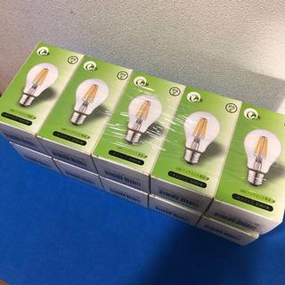 10個 LEDフィラメント電球 エジソン E26口金