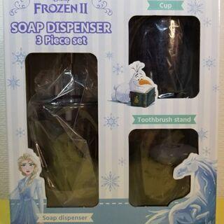 アナと雪の女王 ソープディスペンサー3点セット