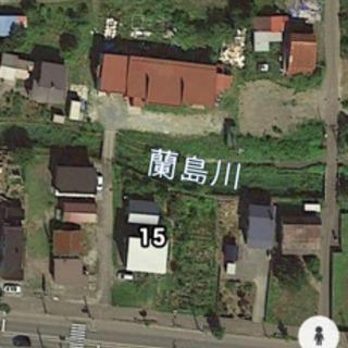 小樽市蘭島1丁目 貸し土地、貸し事務所、貸し車庫