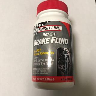 未使用 DOT5.1 BRAKE FLUID 120ml