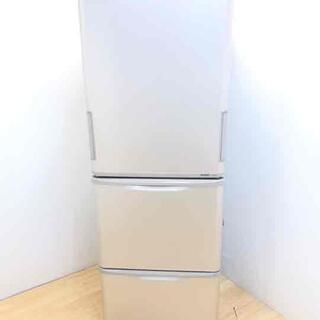 冷蔵庫 3ドア 350L 幅60センチ どっちもドア