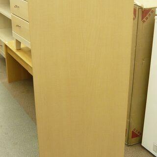 【展示品】コモディ 引出し付き 4段 収納棚 本棚 COD-1360H NA-00 ホワイト/ナチュラル系 西岡店 - 札幌市