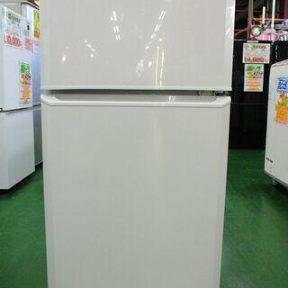 ハイアール 2ドア冷蔵庫 JR-N106K 2015年製。…