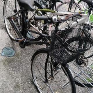 大人用自転車TRINITY &空気入れMEIDAI
