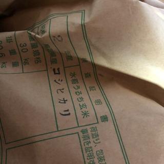 【特売】令和2年 鳥取県日南町産 コシヒカリ 30キロ