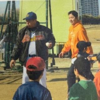 誰でも参加出来るプロ野球OBによる野球教室