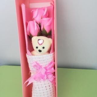 新品 ソープフラワー バラ 花束 バレンタインデー 母の日…