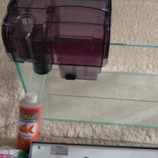 【取引完了】引き取り希望!『値引中』ガラス水槽セット   60×20×30    飼育備品 - その他