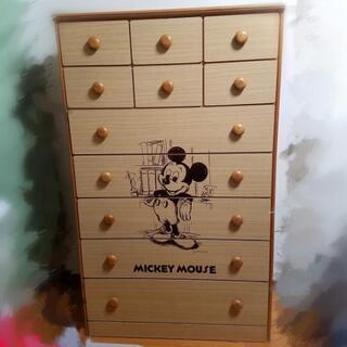 昭和レトロ ディズニー ミッキーマウス タンス チェスト